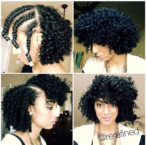 twist in the front curls in the back pin by cynamon strong on hair pinterest natural