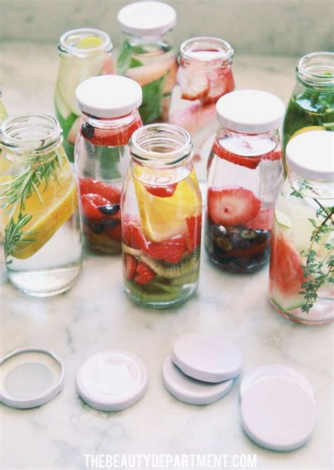Detox Water Combinations by Fruit Infused Water Detox Waters Starbucks Bottles And