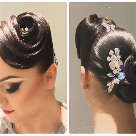 ballroom hair styles with bangs latin dance hairstyles www imgkid com the image kid