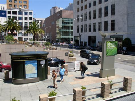Union Square Garage San Francisco by Union Square San Francisco California Travel Photos By