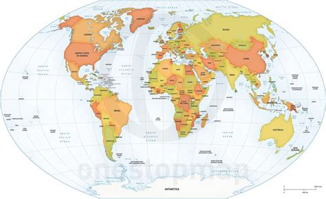 editable world map with country names 1000 images about maps of world on africa