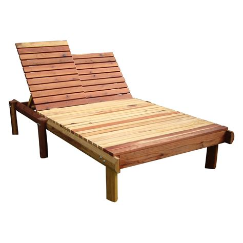 Outdoor Double Chaise Lounge   Home Design by Fuller