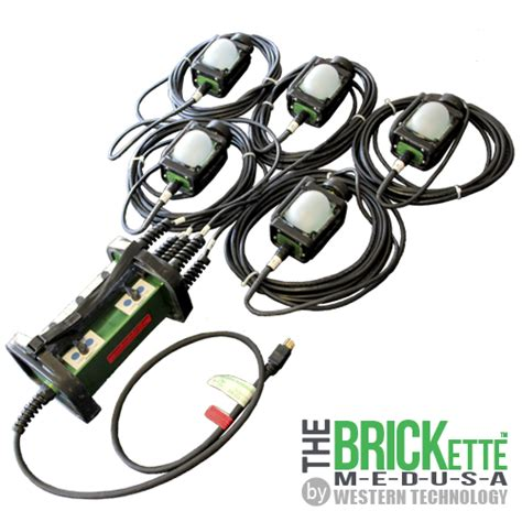 explosion proof string lights the brickette explosion proof led string light