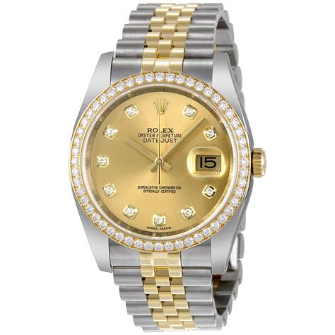 Rolex Datejust Automatic 1 rolex oyster perpetual datejust 36 chagne