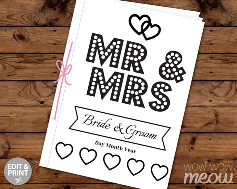 Wedding Coloring Book Cover by Wedding Coloring Book Children S Activity Sheets Booklet