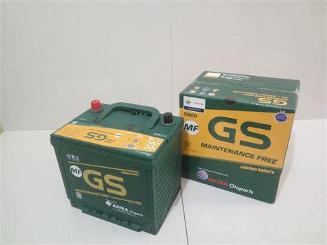 Jual Aki Gs 46b24ls by Jual Aki Mobil Gs Maintenence Free 55d23l Harga Murah