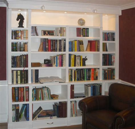 Built In Bookcases For Special And Intimate Storage My Built In White Bookcases