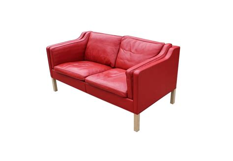 1980s couch b 248 rge mogensen sofa model 2212 fredericia furniture