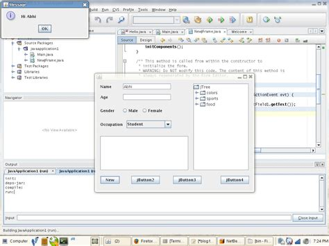 java swing application tutorial swing abhishek mahanty s blog