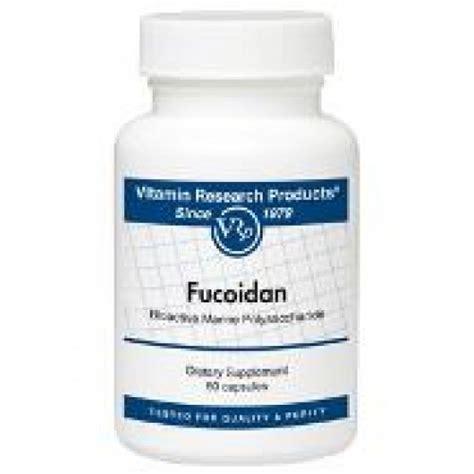 Fucoidan Detox by Vitamin Research Products Vrp Fucoidan Seek