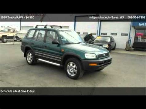 how cars run 1998 toyota rav4 on board diagnostic system 1996 toyota rav4 l for sale in spokane valley wa 99212 youtube