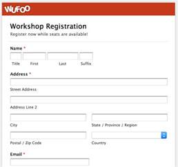 class registration template wufoo 183 top 5 event registration form templates
