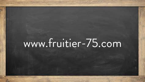 fruitier d auteuil www fruitier 75 mangeons local en ile de