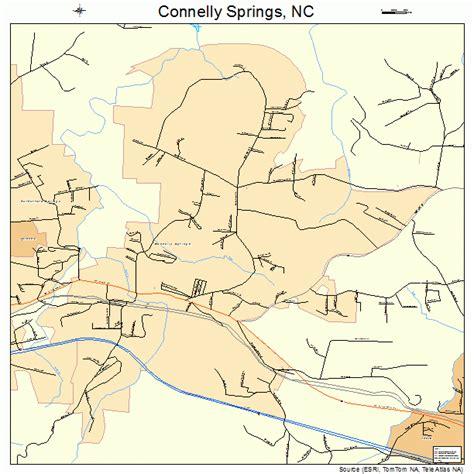 springs carolina map connelly springs carolina map 3714280