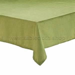 raphael olive green tablecloth
