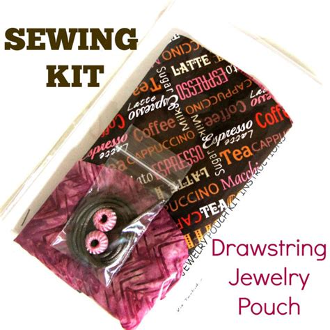 beginning jewelry kit beginner sewing kit diy kit diy gift diy jewelry pouch