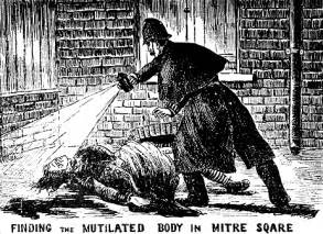 jack the ripper and the suspect vacuum history in an