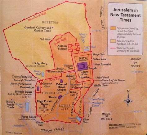 map of new testament jerusalem bible map jerusalem in new testament times welcome to