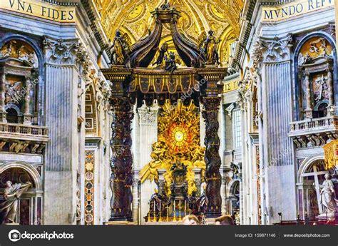 baldacchino di bernini basilica bernini baldacchino spirito santo vaticano roma
