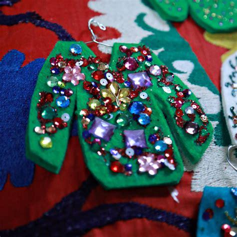 tacky christmas ornaments invitation template