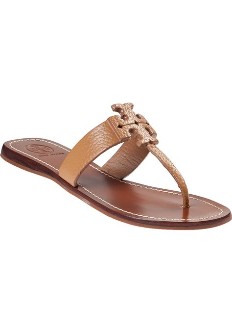 burch brown sandals burch sandal royal leather in brown