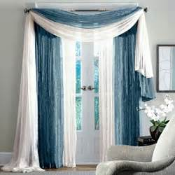 Window Scarves For Large Windows Inspiration Go Style Scarf Window Treatments