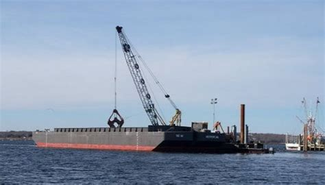 split hull boat 2007 2007 140 850 cu yd split hull dump scow with 87