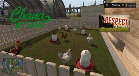 Chicken Ls by Sa Chicken House V1 0 0 Farming Simulator 2017 Mods Ls