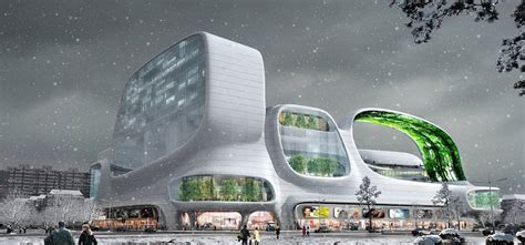 Chicagos Eco Shopping Mall by Green Mall Shopping Complex Aims For Eco Friendly