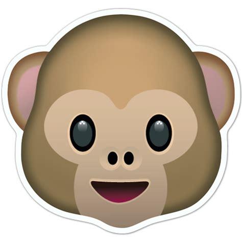 Imagenes Del Emoji Del Mono | pegatina emoticono emoji cara de mono
