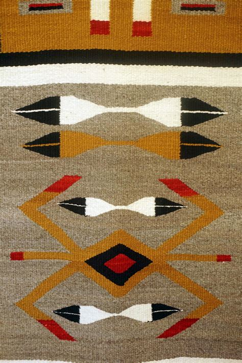 Yei Rugs by Pattern Pictorial Navajo Rug With Single Yei In The