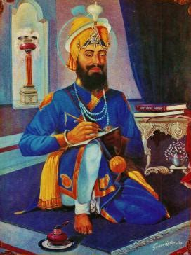 Shri Guru Gobind Singh Ji Essay In by Guru Gobind Singh Ji S Walk Through Indian Ledger