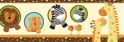 cenefa adhesiva infantil cenefa animales infantiles