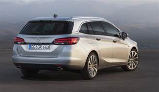 Opell Astra 2016 Opel Astra Sports Tourer Wagon Revealed For Frankfurt