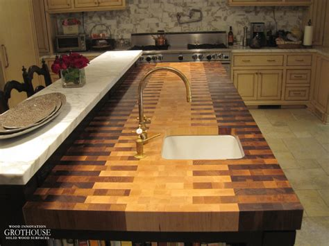 Block Countertop by Butcherblock Countertops Wood Countertop Butcherblock