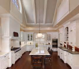 vaulted kitchen ceiling ideas dramatic vaulted ceiling in kitchen traditional