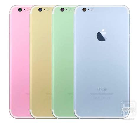 apple proposait des couleurs pastels pour liphone