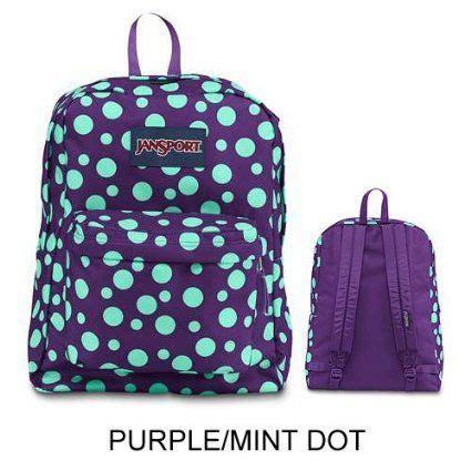 Ransel Jansport Polka Purple jansport backpack multi tone superbreak fx california various style bag style