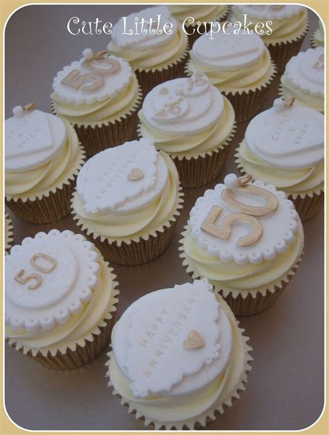 25 best ideas about anniversary cupcakes on winter wedding cupcakes 50th wedding