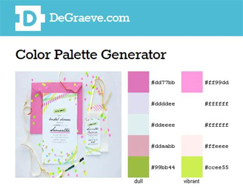 color palette creator color palette generator design color spectrum pinterest