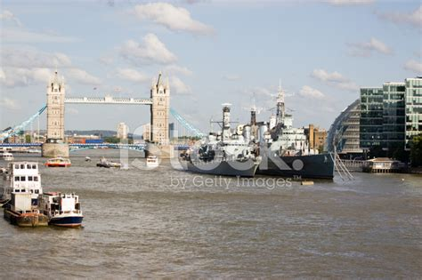 thames river gymnastics river thames from london bridge stock photos freeimages com