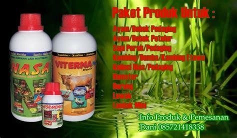 Viterna Mempertinggi Daya Tahan Tubuh Ternak Terhadap Penyakit vitamin ternak organik nusantara