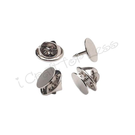 tie tacks blank pins with clutch back lapel scatter pin ebay