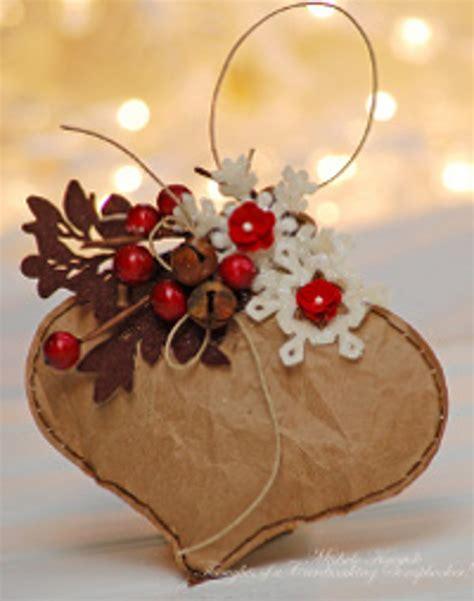 simple brown bag christmas ornament favecraftscom