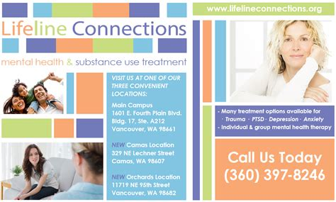 Lifeline Connections Detox Phone Number by Media Marketing Lifeline Connections Vancouver Wa
