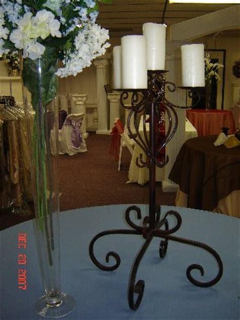 Centerpieces Table Centerpieces Maestro Vase Wrought Iron Candelabra Centerpieces