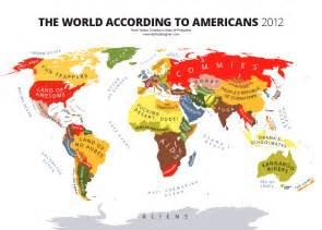 the world map of the united states world map according to america