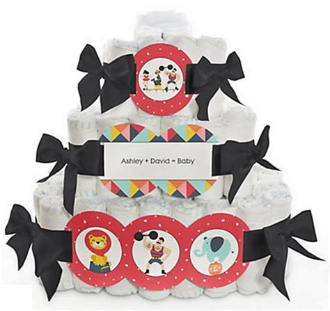 Circus Themed Baby Shower Cakes by Carnival Circus Themed Baby Shower Cakes Baby