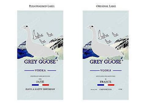 printable vodka label grey goose vodka label cake topper sunshine cake toppers