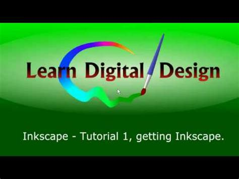 inkscape tutorial on youtube inkscape quot get it free quot tutorial 1 youtube